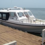 """""""Blessing,"""" one of the Sea Coach Boat Company boats"""