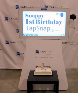 A look at TapSnap's technology from the Greater Philadelphia franchise's Facebok page. Green screens are coming soon too!