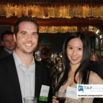DIG marketing pros Darren Behuniak and Junchu Du trying TapSnap out.